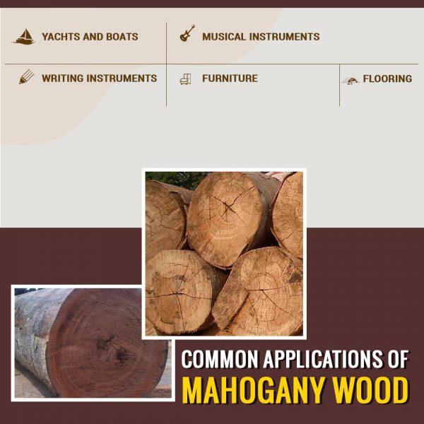 uses of mahogany wood