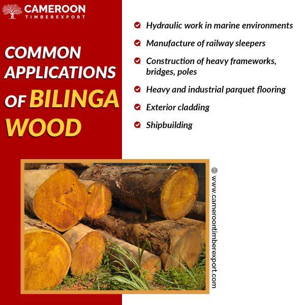 bilinga wood uses