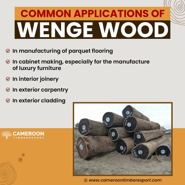 wenge wood uses