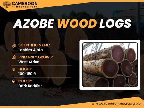 azobe wood logs