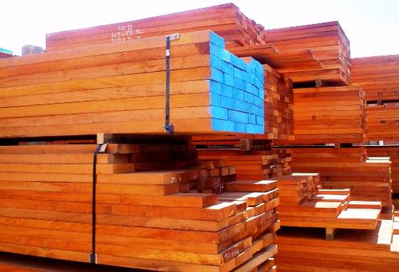 Doussie Sawn Timber