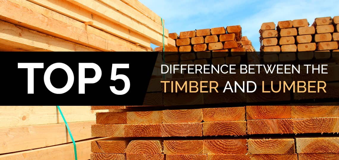 Difference Between Timber And Lumber