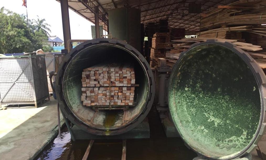 Tanalised Wood Treatment