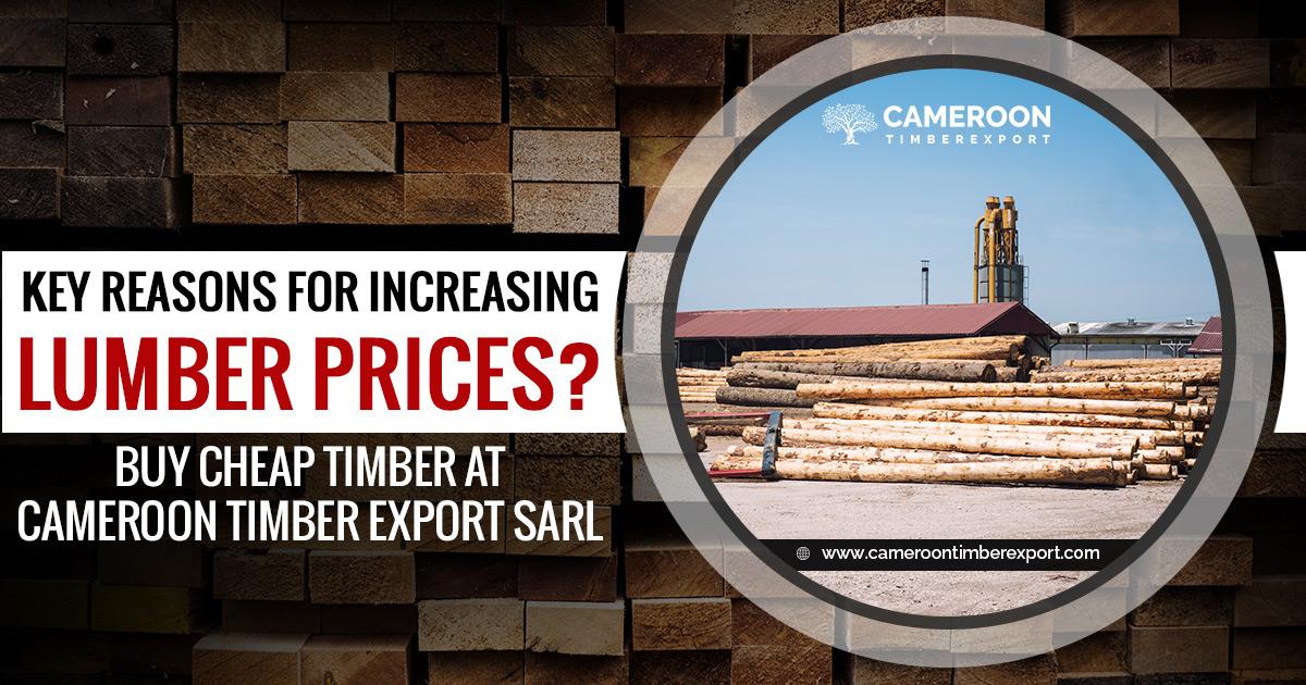 key reasons for increasing lumber prices
