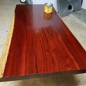 padauk wood slab