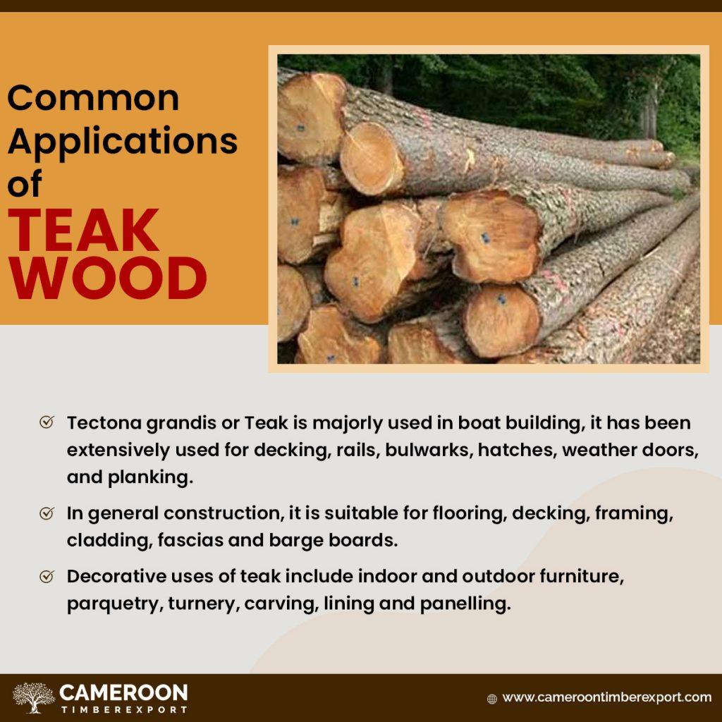 uses of teak wood