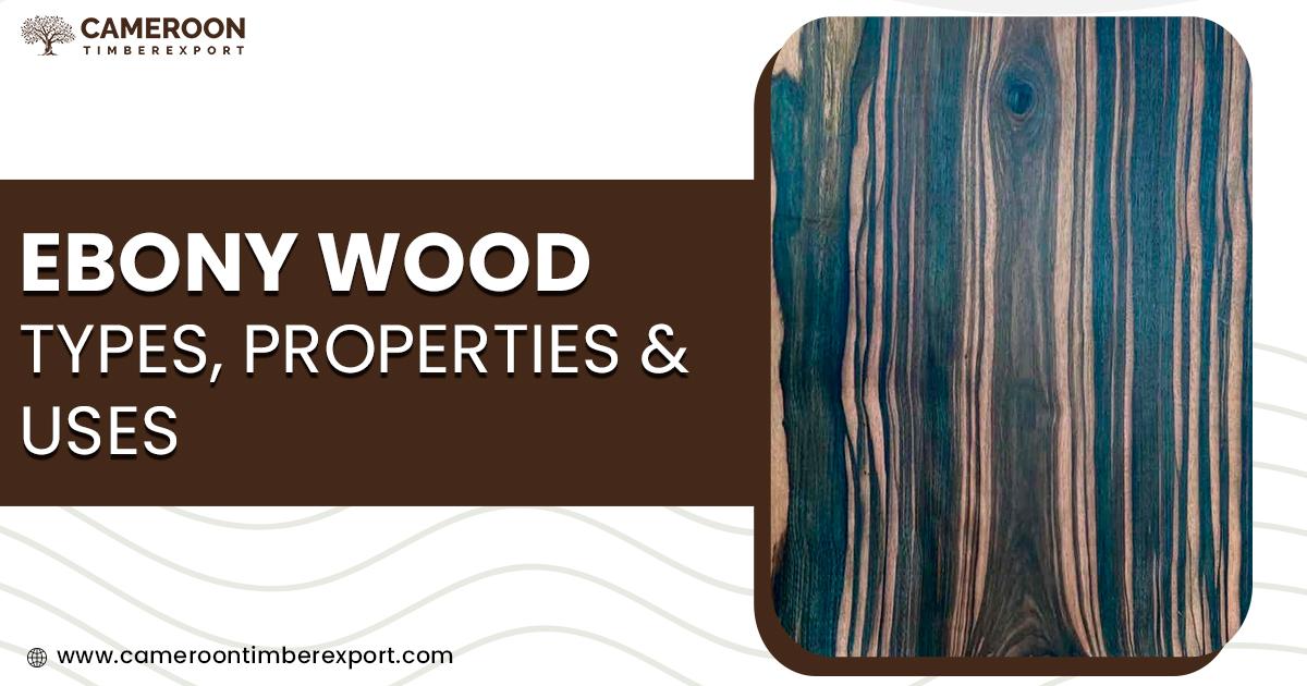ebony wood types, properties & uses