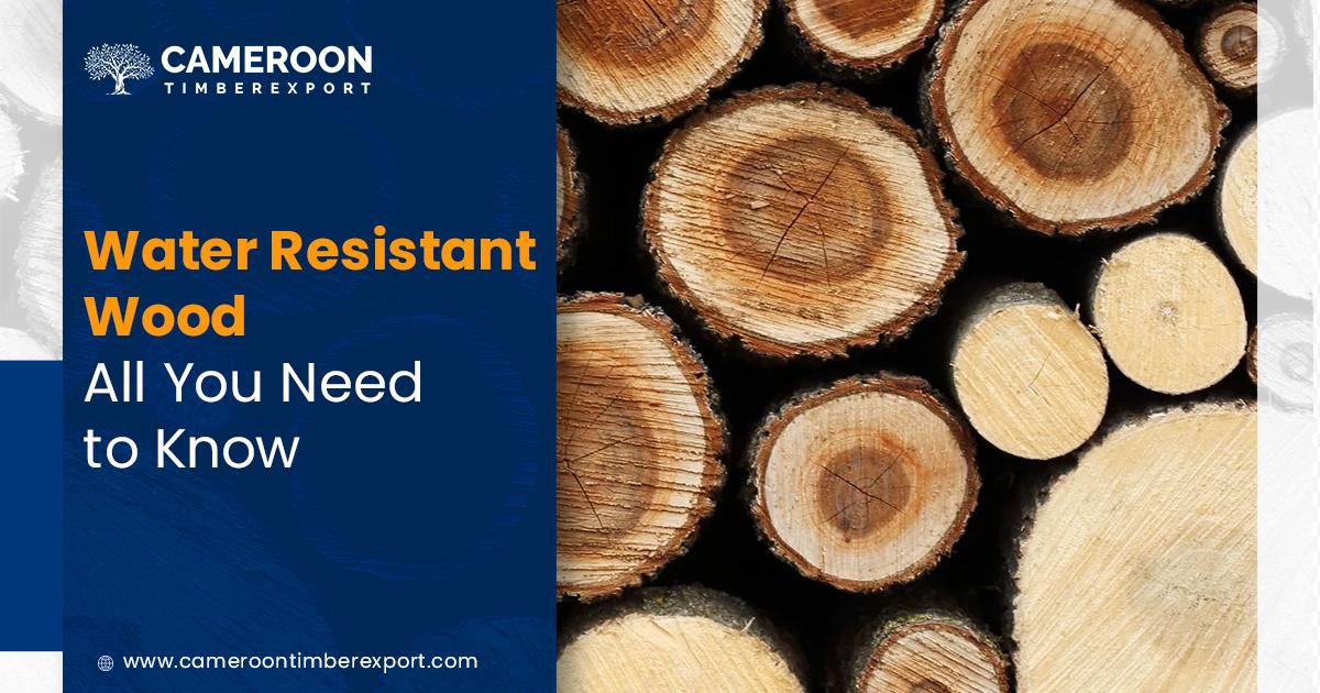 water resistant wood